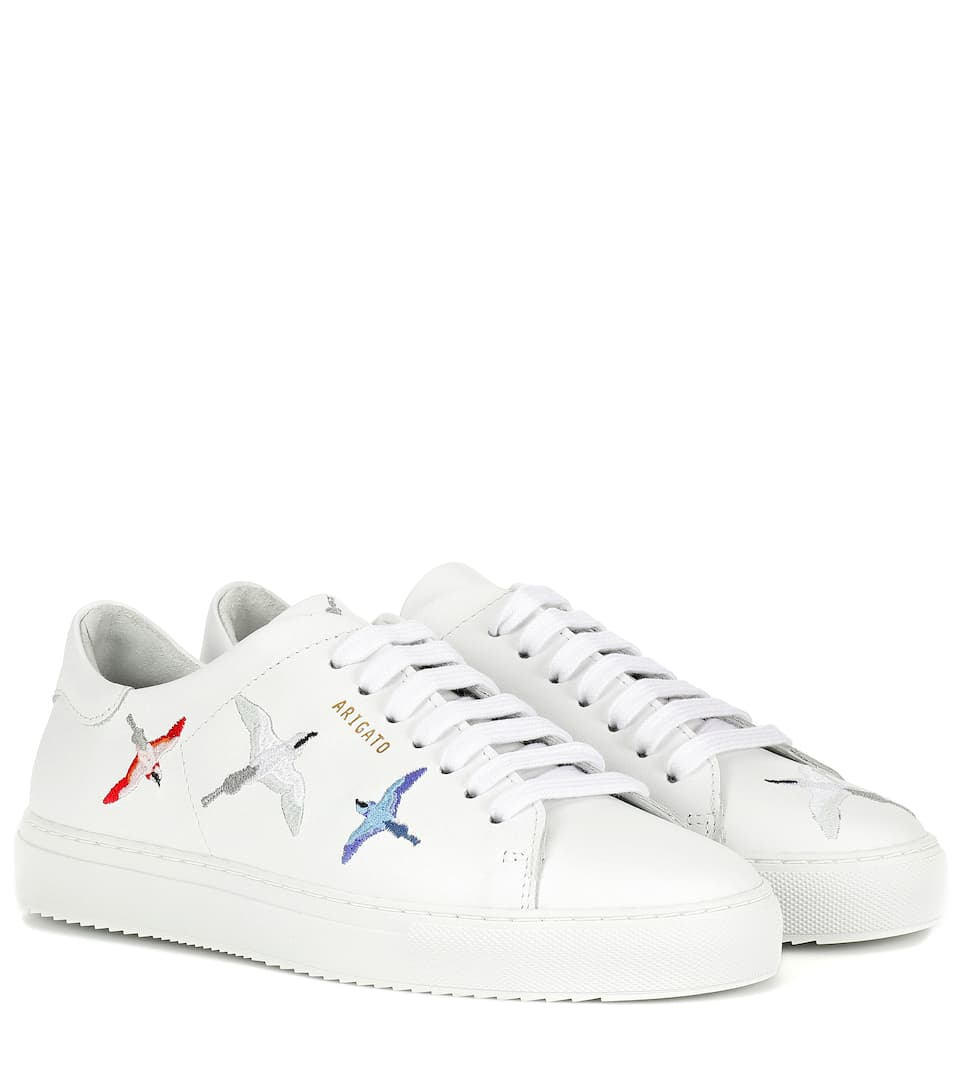 Clean 90 Bird Leather Sneakers - Axel