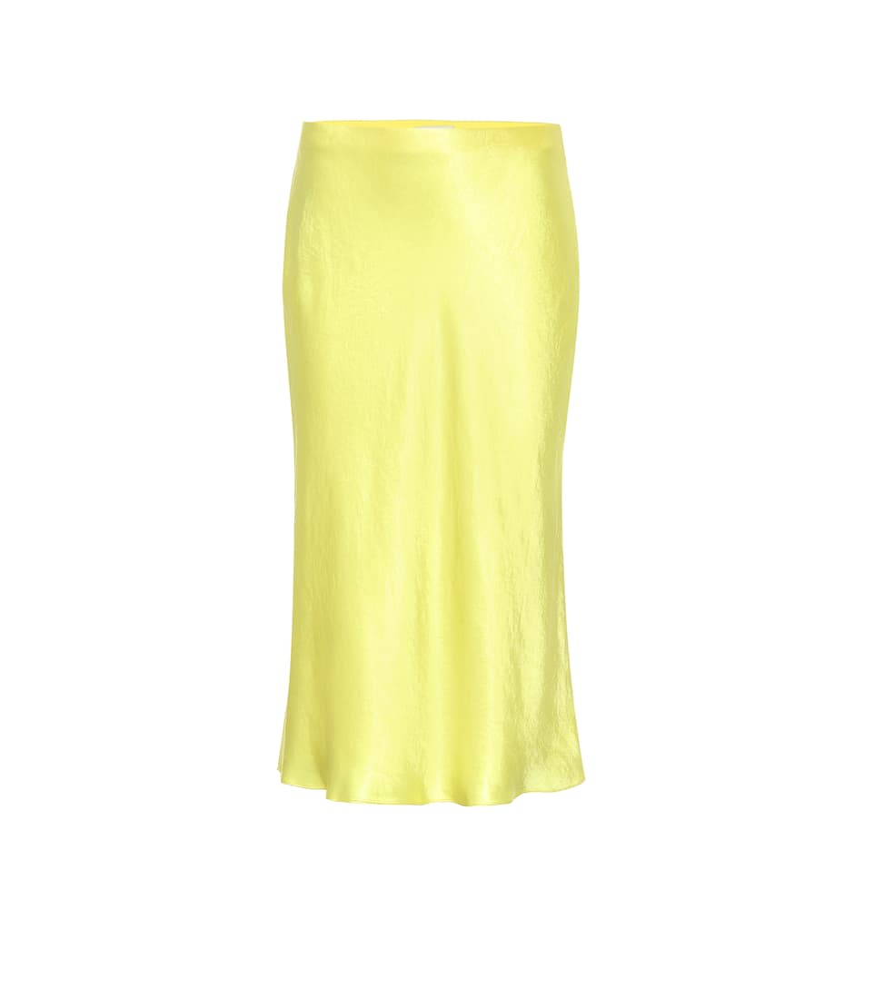 097e0930f38e Satin slip midi skirt. NEW ARRIVAL; NEWSEASON