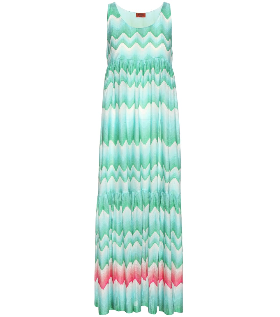 Missoni Mare Crochet-knit dress