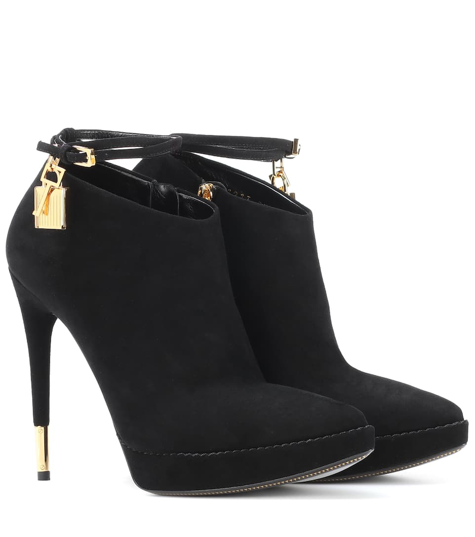 Tom Ford - Bottines en daim à ornements