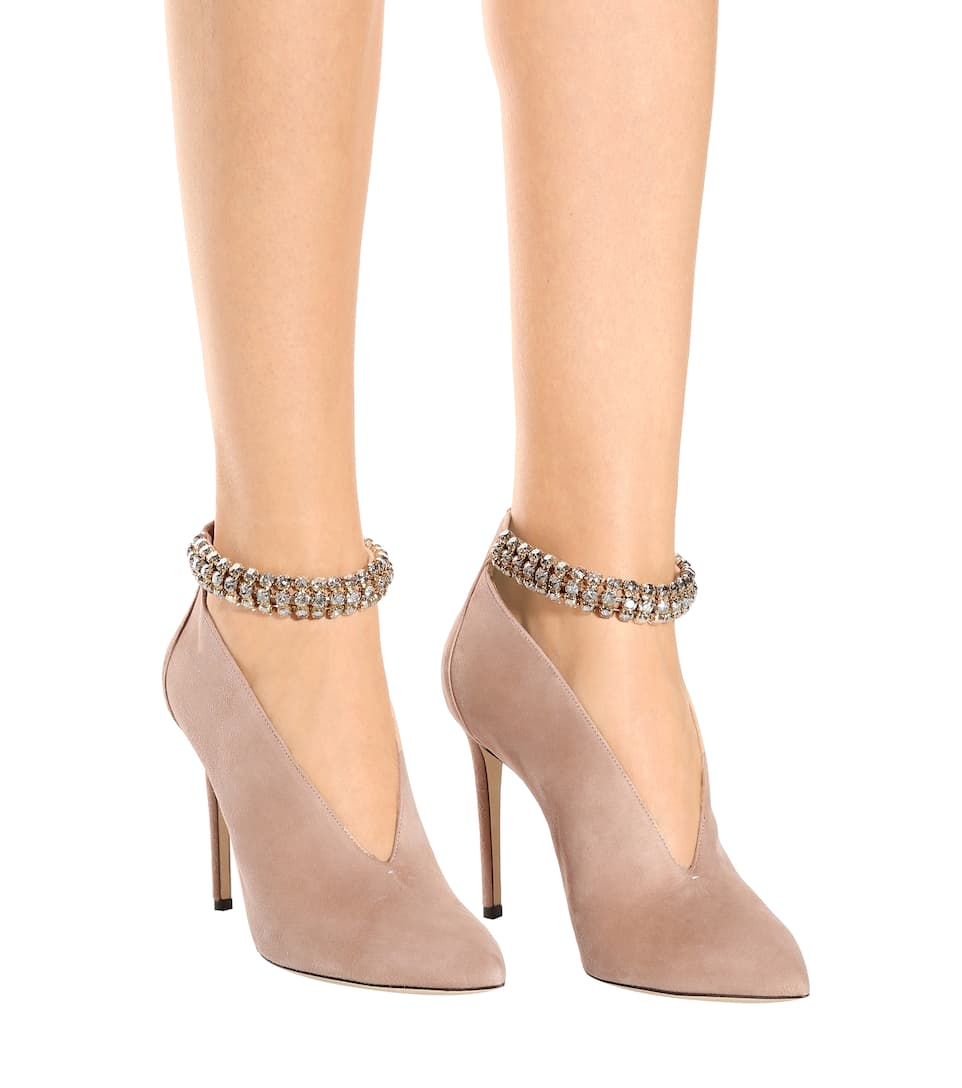9955e7b006b Jimmy Choo - Lux 100 suede pumps