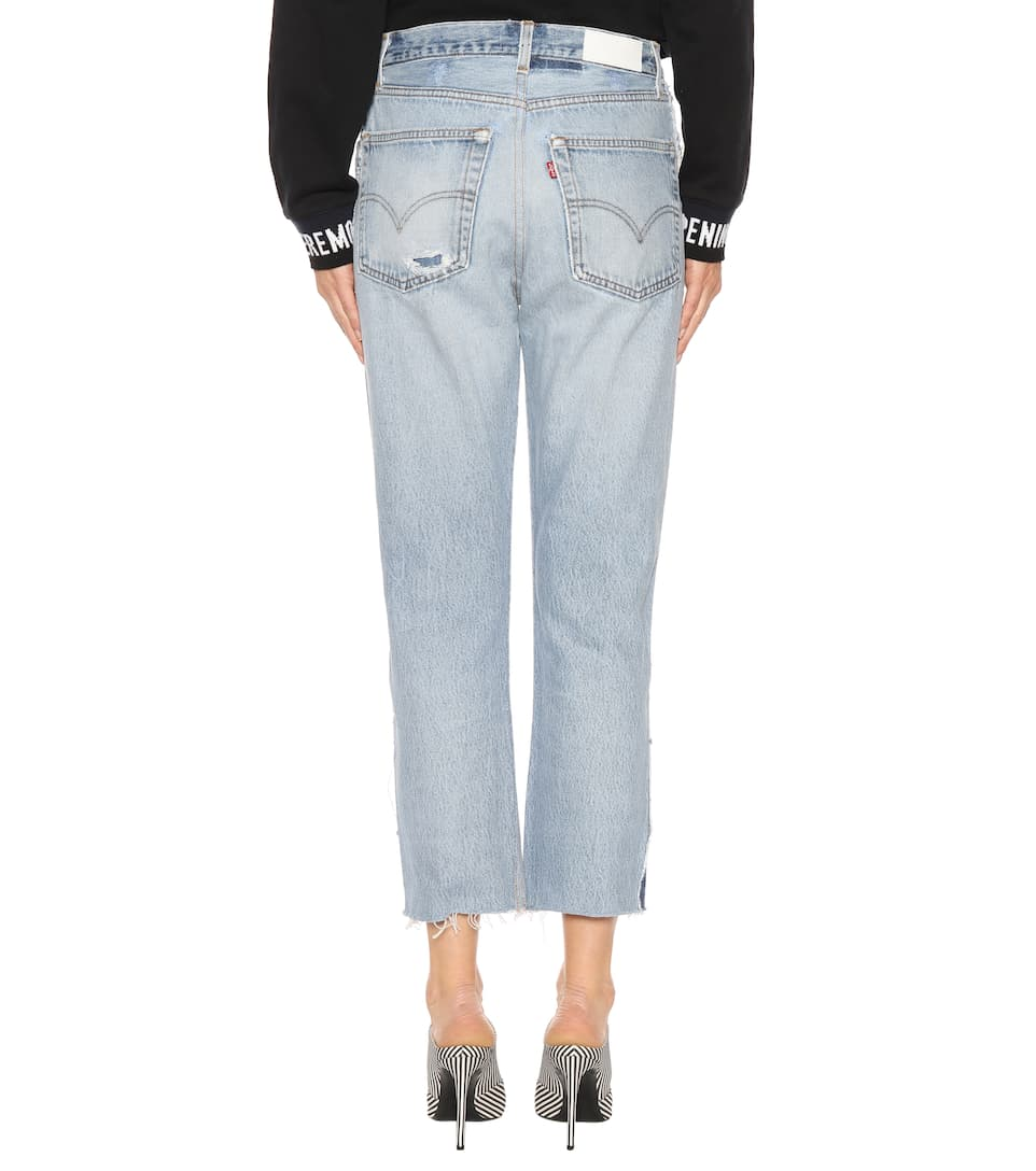Re/Done High Rise Jeans Relaxed Exposse