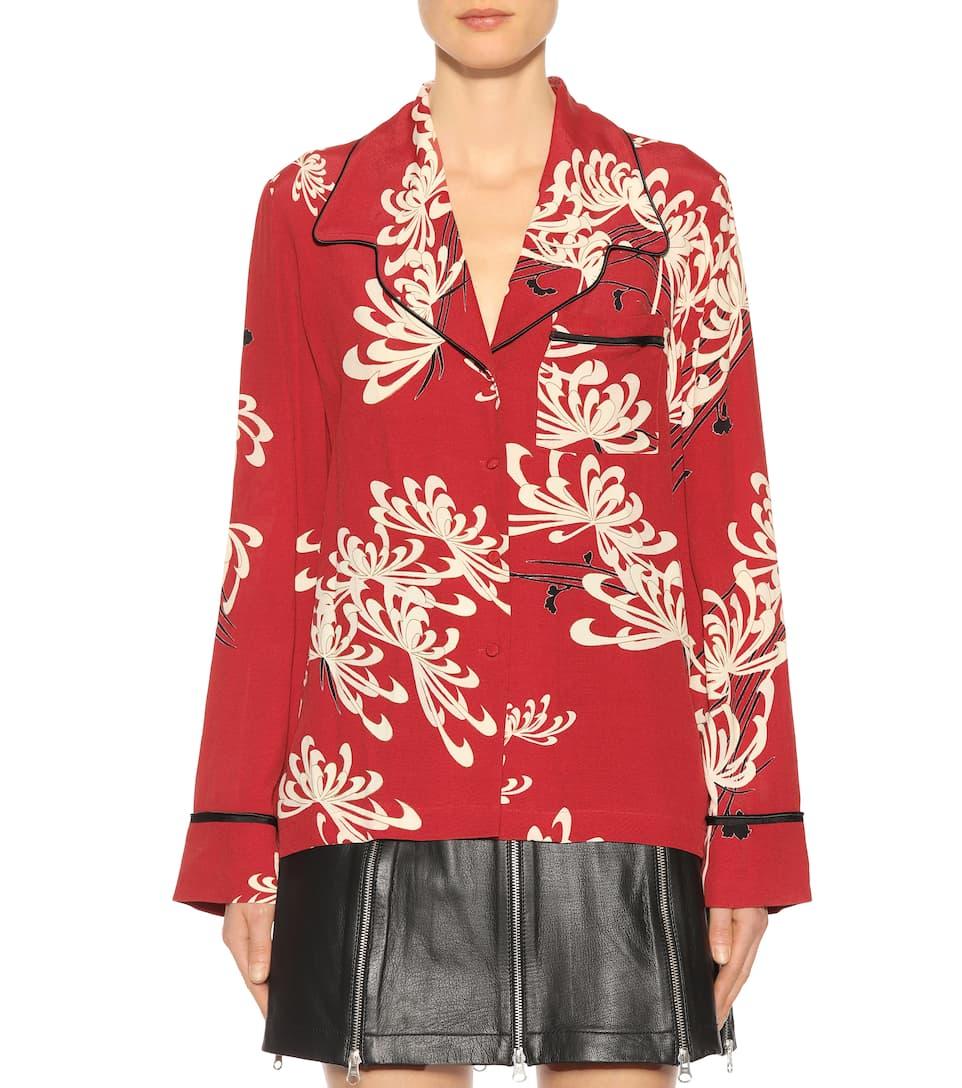 McQ Alexander McQueen Bedruckte Bluse