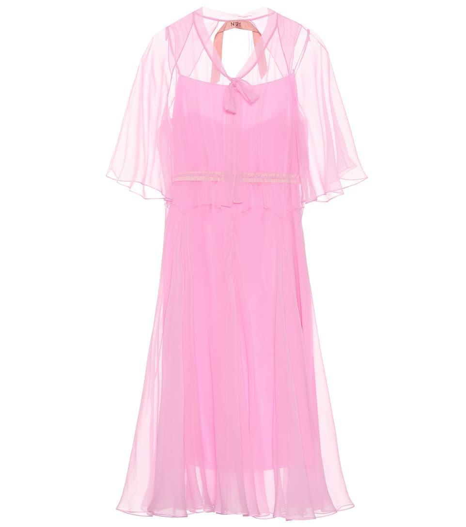 N°21 Kleid aus Seide