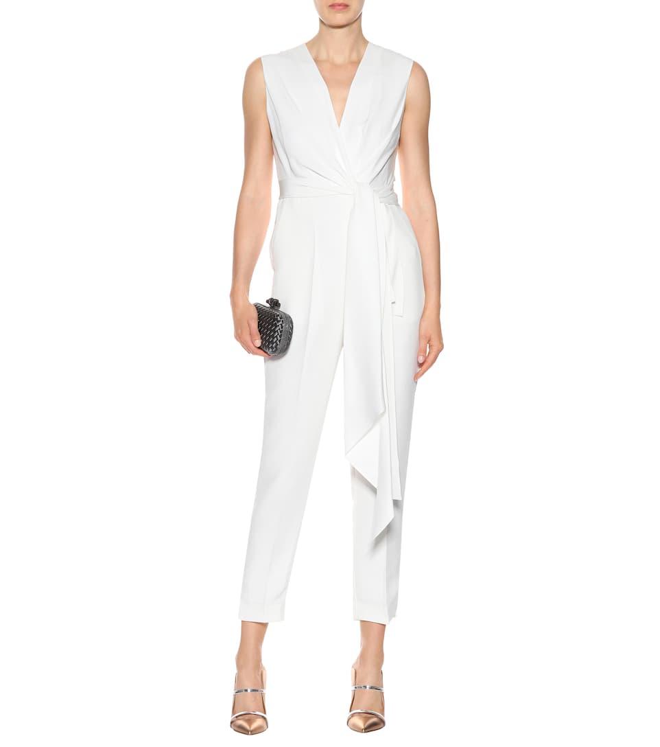 bcca0606c0f Rokuro Bridal Silk-Blend Jumpsuit - Roksanda