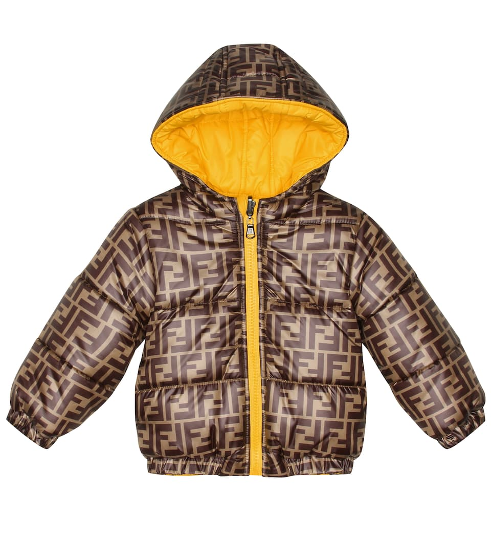 0d25d3fb8665 Reversible Printed Down Coat