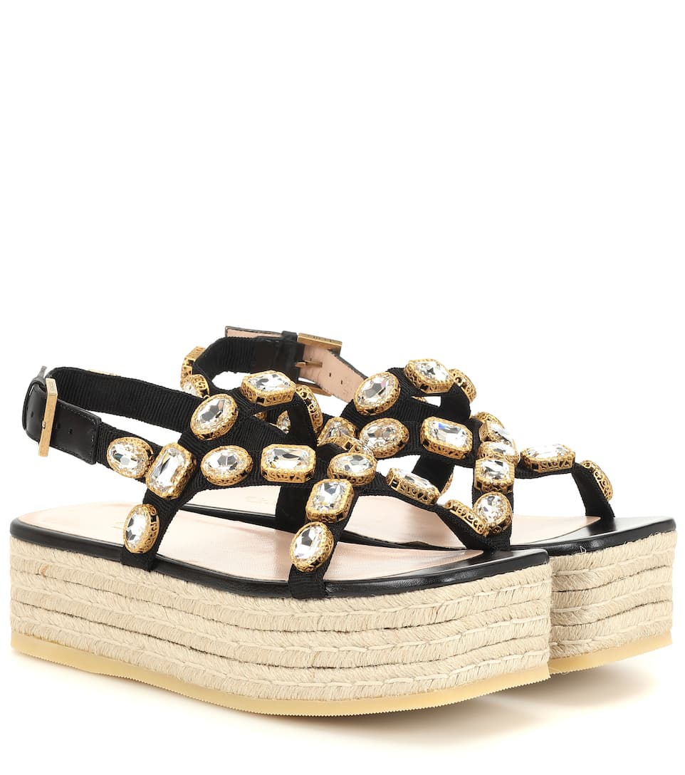Platform Sandals Platform Embellished Platform Crystal Embellished Crystal Sandals Crystal Sandals Embellished Crystal iuwPZTlXOk