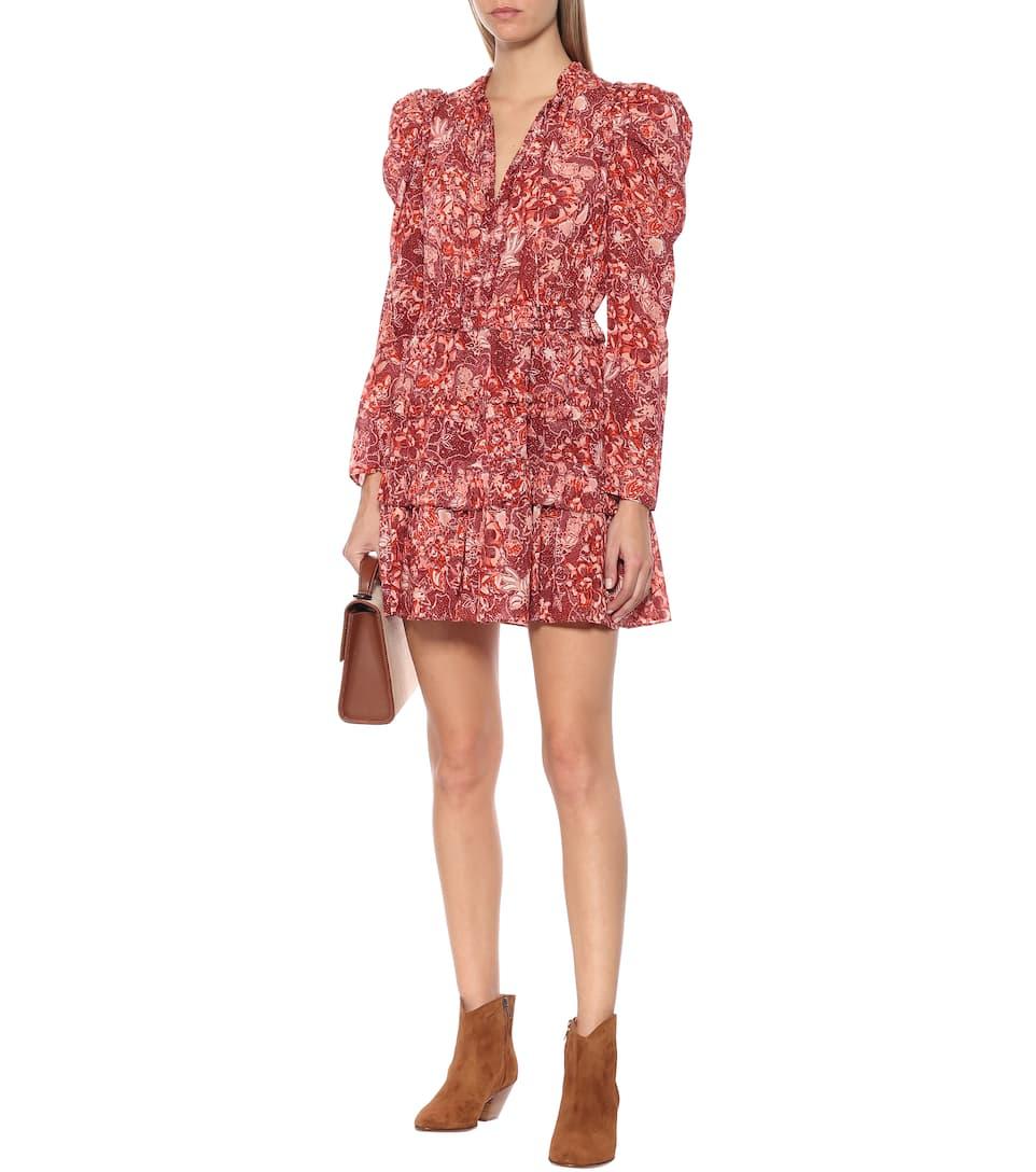 Prissa Floral Cotton-Blend Dress | Ulla Johnson - Mytheresa