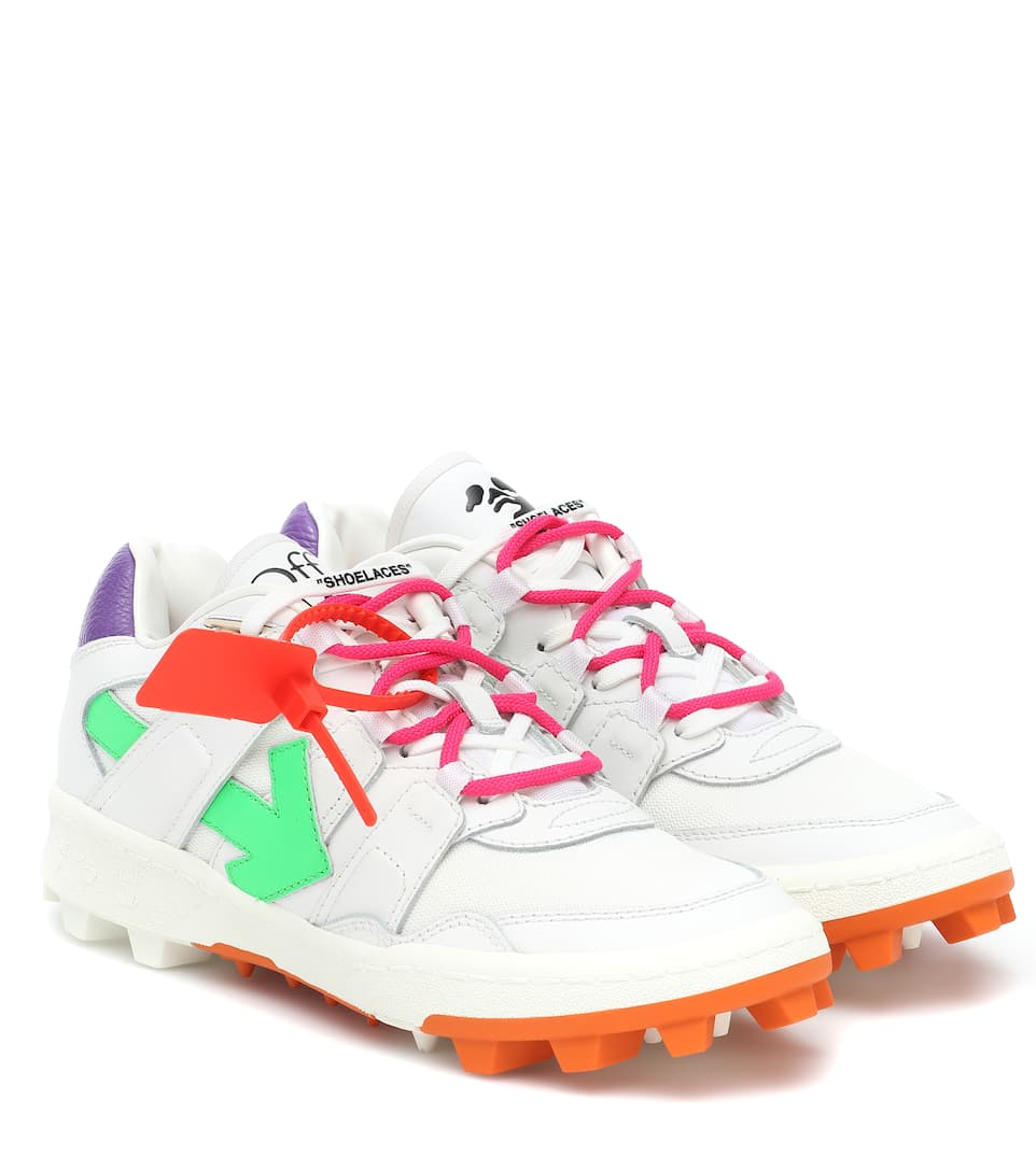 Mountain Cleats Leather Sneakers   Off