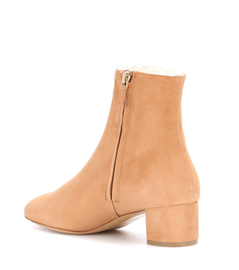 Mansur Gavriel Ankle Boots mit Shearling