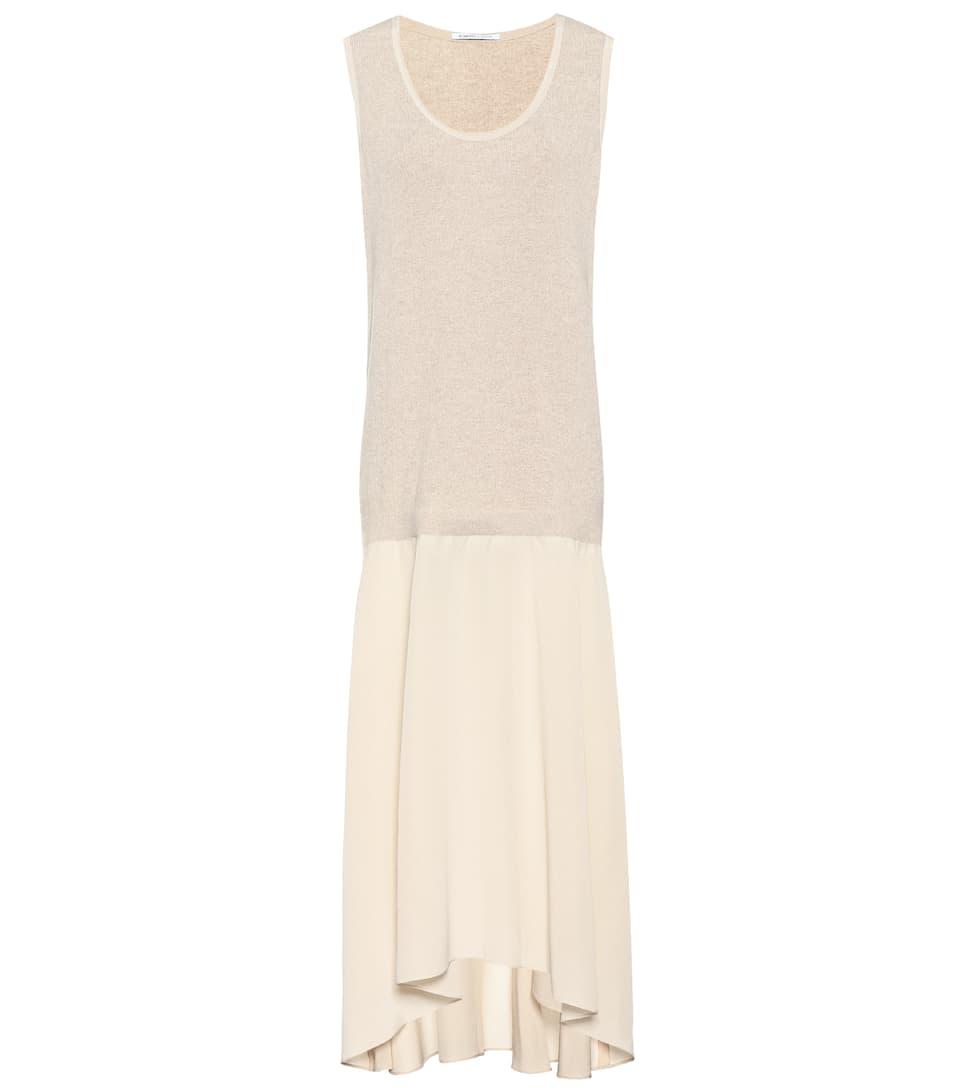 Agnona Kleid aus Wolle und Seide