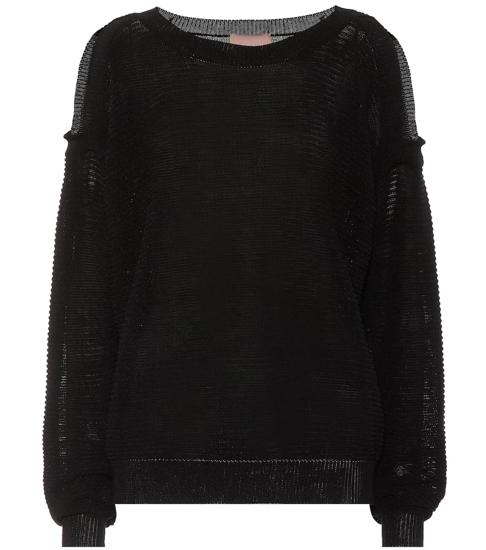 Fabienne Cotton Blend Sweater by 81hours