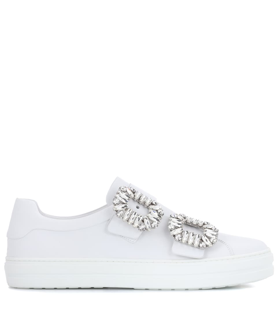 Roger Vivier Sneakers Sneaky Viv aus Leder