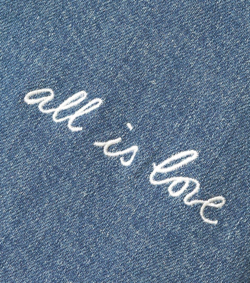Stella Camicia McCartney con ricami in jeans UUq8nf4