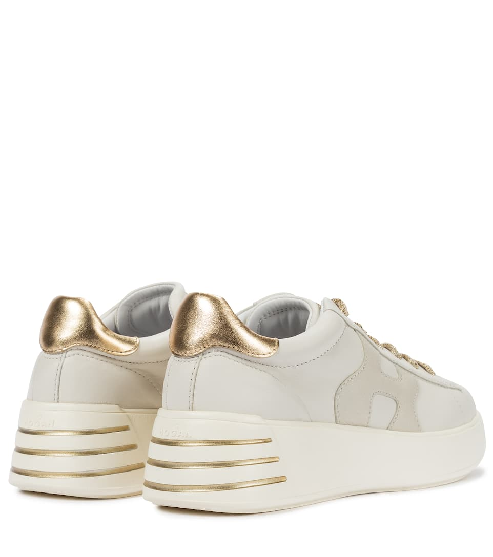 Rebel H564 leather sneakers
