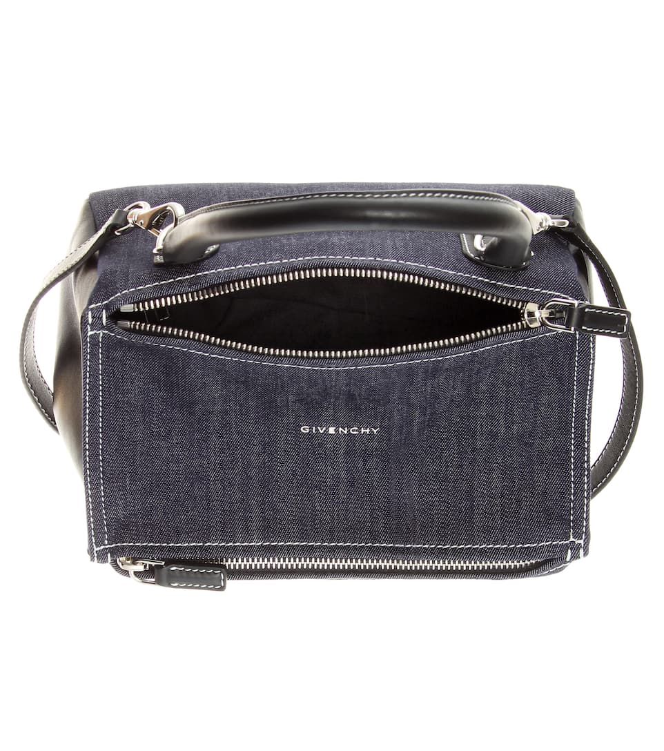 568a606e3e mytheresa.com - Pandora Small denim shoulder bag - Luxury Fashion .