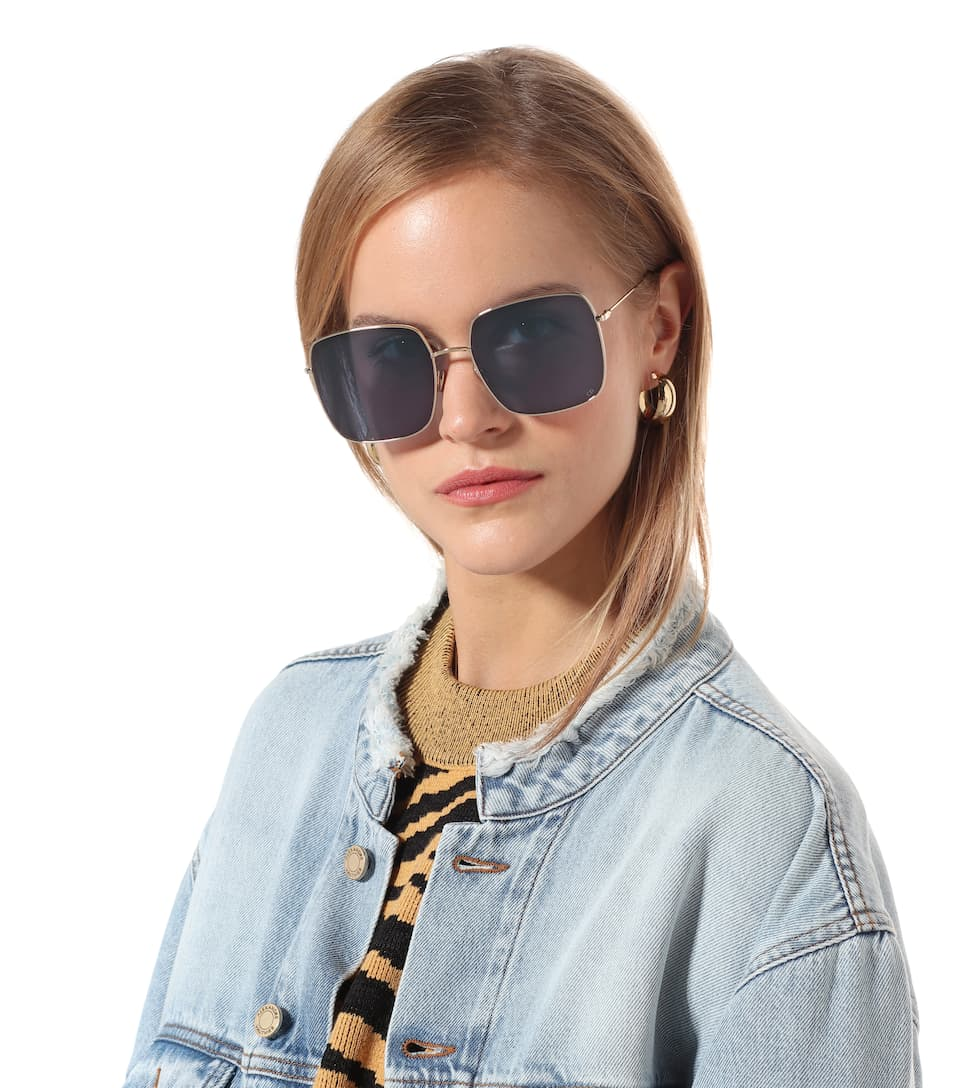 2d7d2a63c4d Diorstellaire1 Square Sunglasses