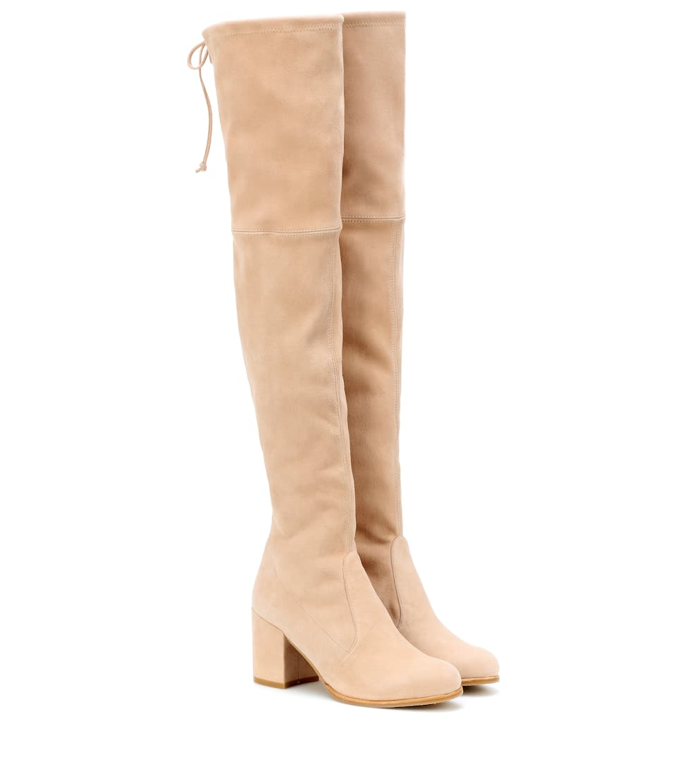 6d9b4d491 Tieland Suede Over-The-Knee Boots | Stuart Weitzman - mytheresa