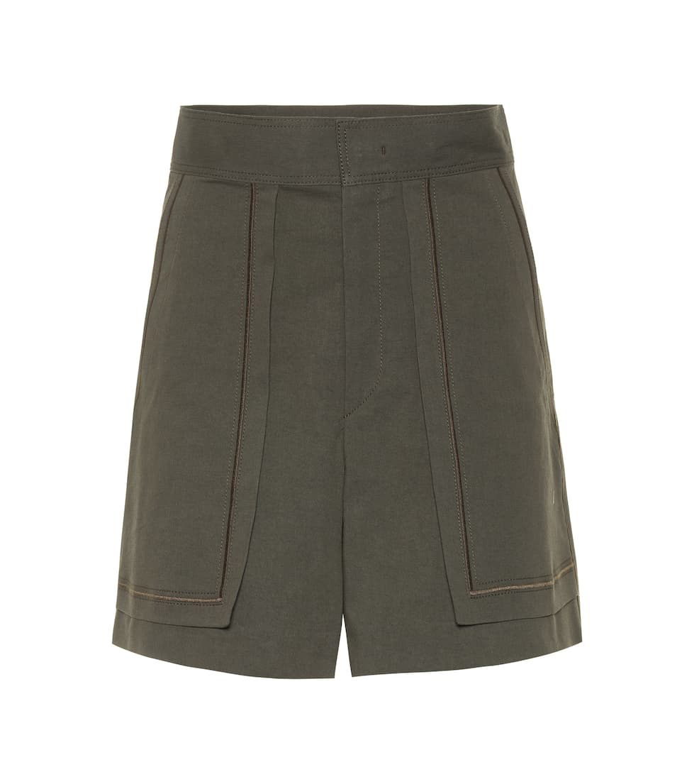 Lucky cotton shorts Isabel Marant