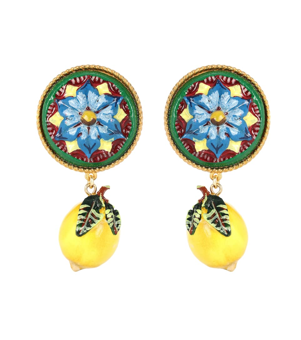 Boucles D'oreilles Clip - Dolce & Gabbana Orange 100% D'origine 100% D'origine Prix Pas Cher Nouveau Jeu Boutique Offre De Prix Pas Cher Livraison Gratuite Boutique Offre D4yexP