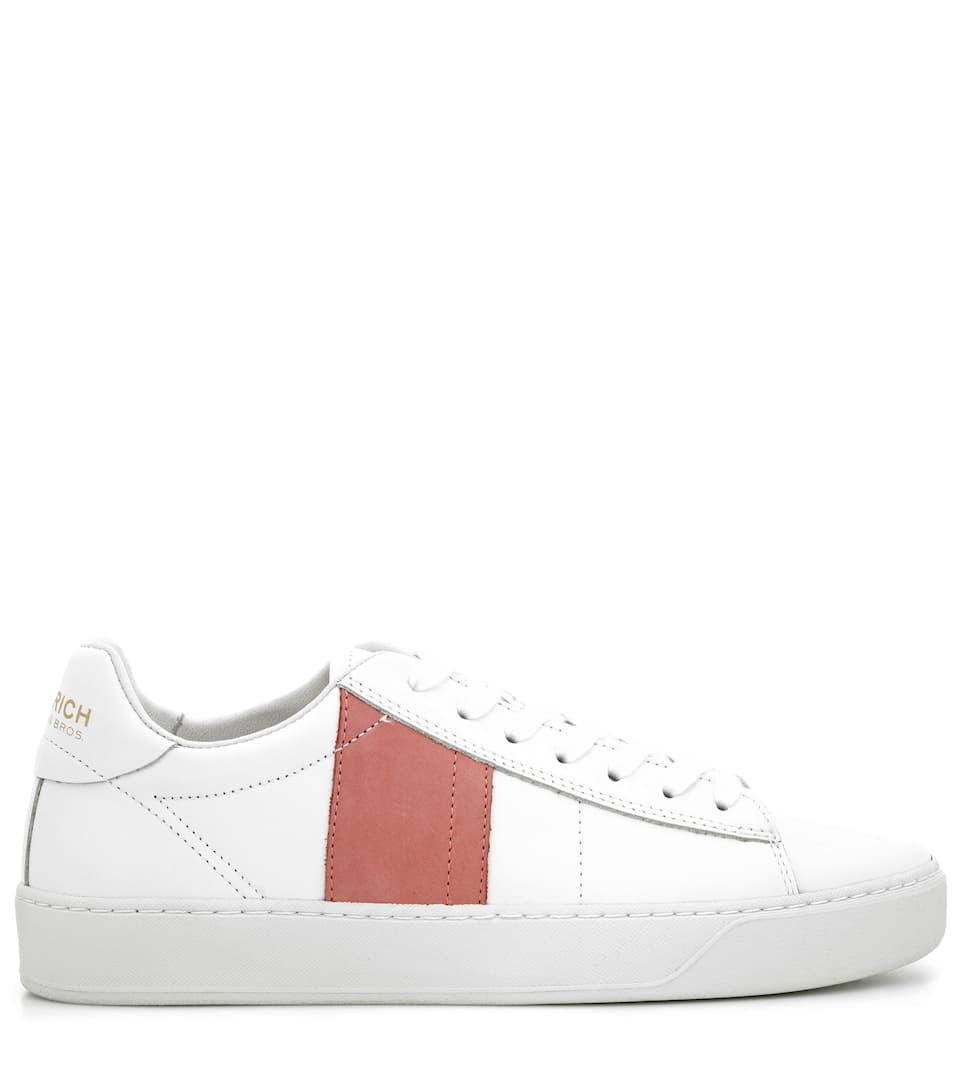 Woolrich Sneakers aus Leder und Veloursleder