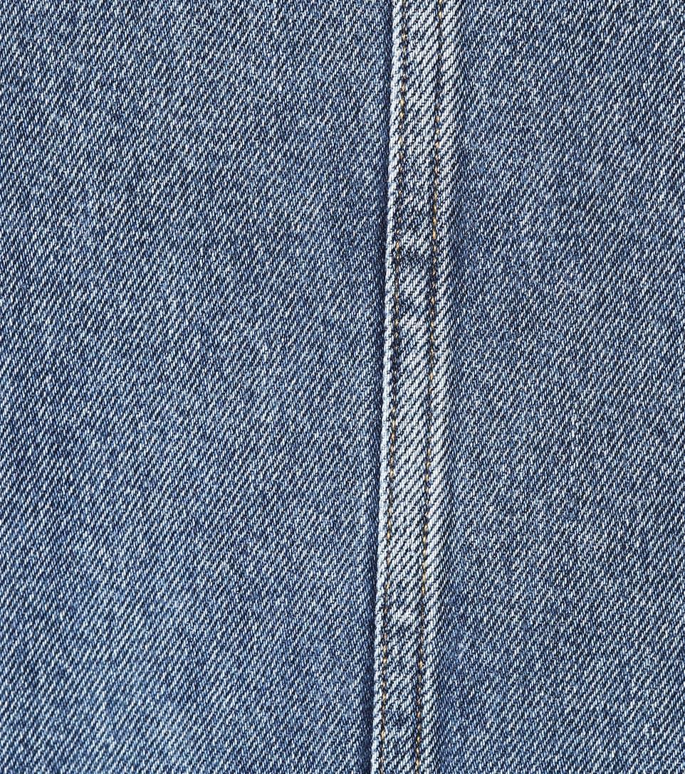 M.i.h Jeans Jeanskleid mit Wellenkanten