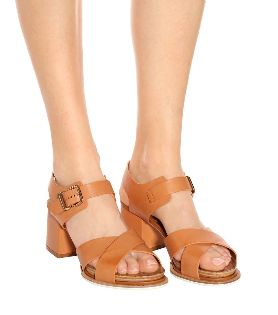 Tod's Sandalen aus Leder