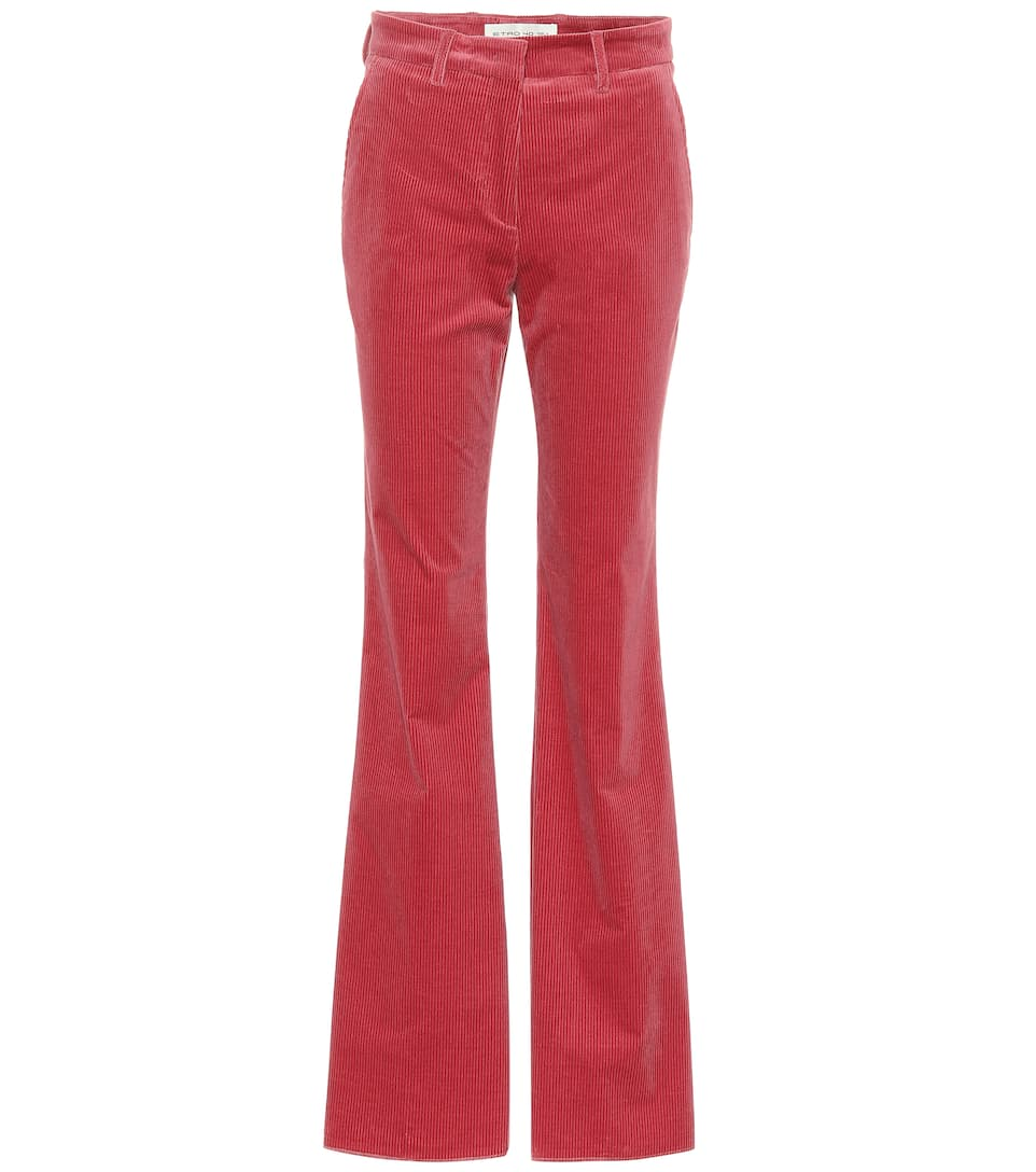 Corduroy Flared Pants by Etro