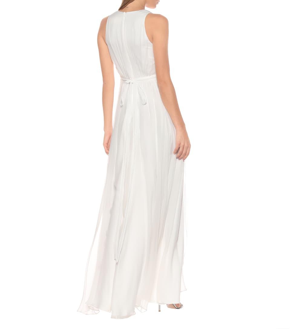 Max Mara - Klausen silk-chiffon bridal gown