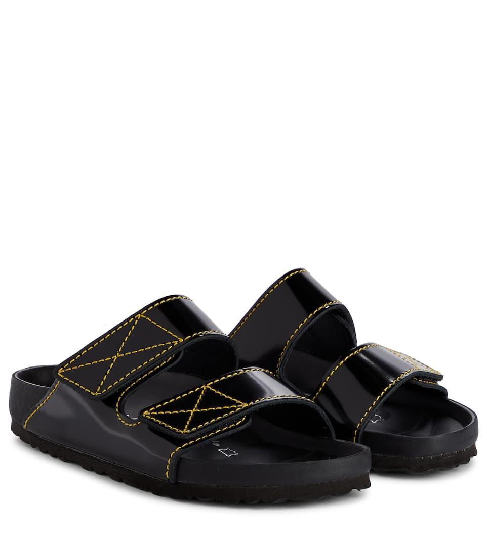 X Birkenstock Arizona Leather Sandals