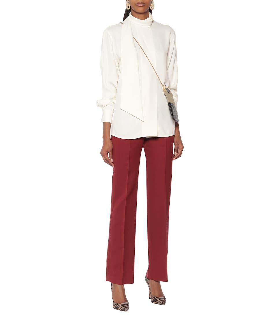 Victoria Beckham - Sablé blouse