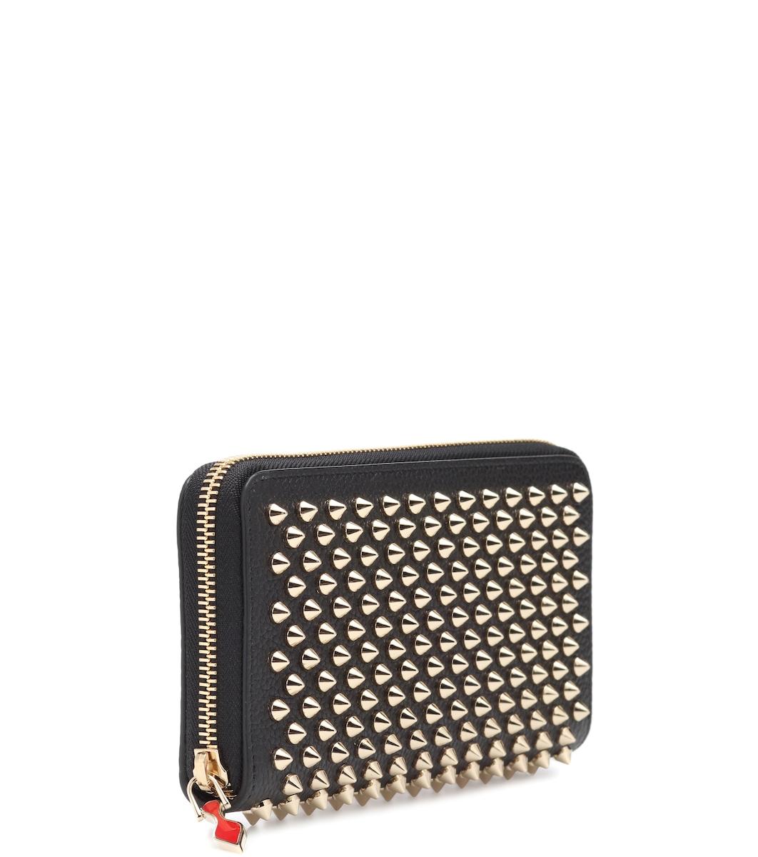 45dfba1b0a Panettone Leather Wallet - Christian Louboutin | mytheresa.com