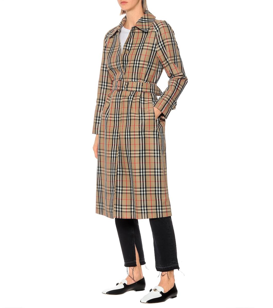 866912ab2 Vintage Check Trench Coat - Burberry | mytheresa