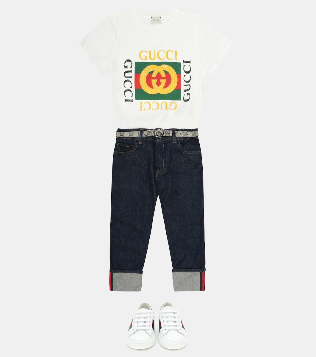 ac0a664c3c9 Gucci Kids - GG Supreme belt
