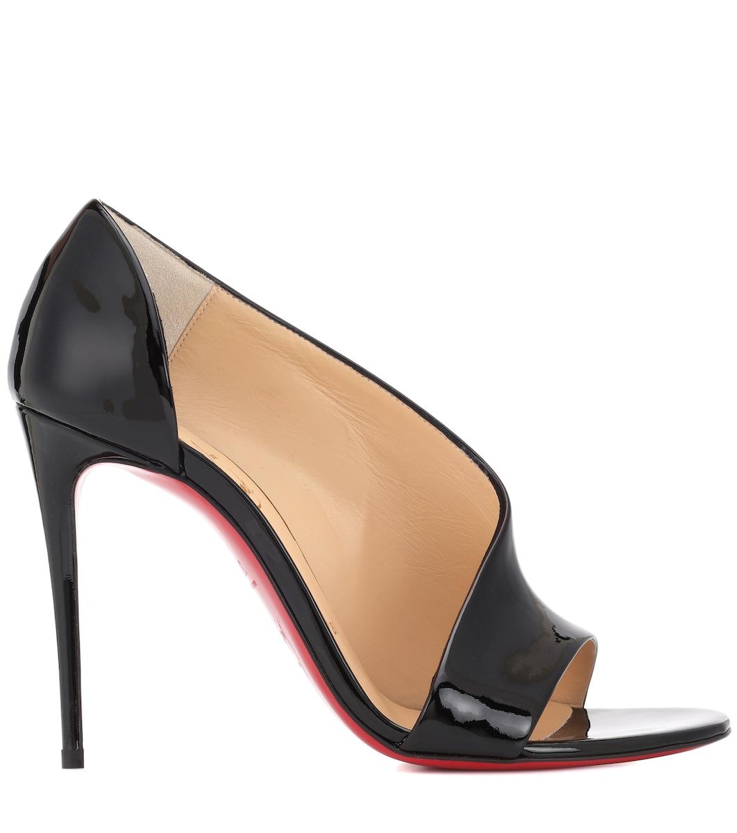 8afa2d4ab Phoebe 100 Patent Leather Sandals - Christian Louboutin | mytheresa