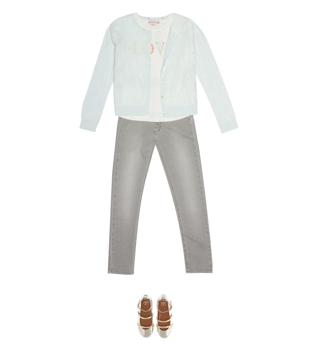 d3c581c80 Bonpoint - Pointelle cotton cardigan