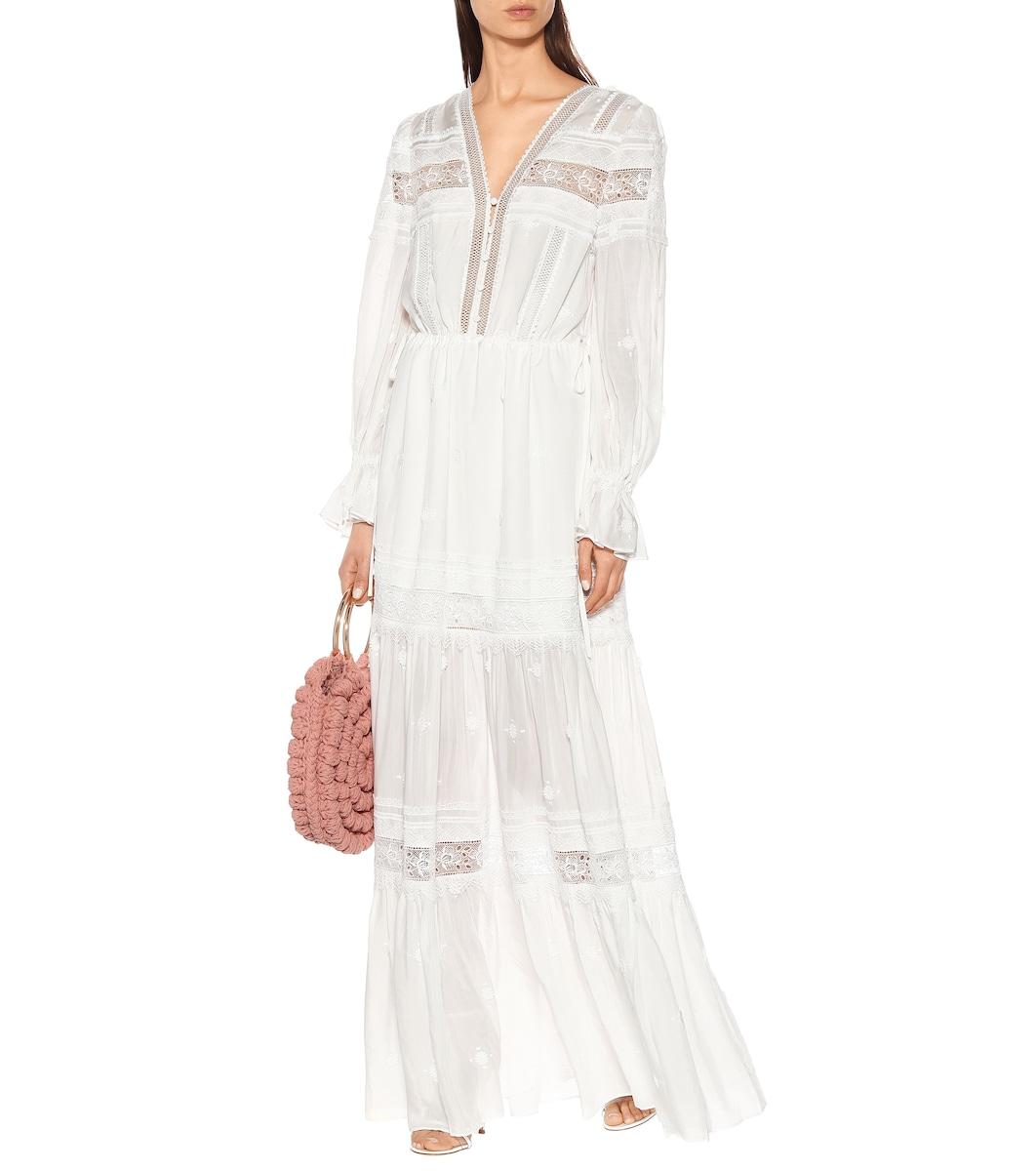 8c6d922130d6 3D Plumetis Maxi Dress - Self-Portrait | mytheresa