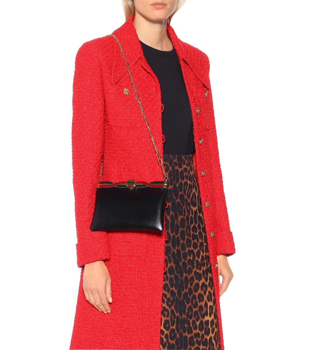 01b260435f1 Broadway Leather Shoulder Bag - Gucci
