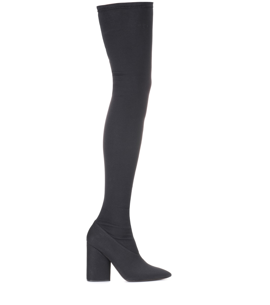 087cf2f533769 Yeezy - Over-the-knee stretch boots (SEASON 4)