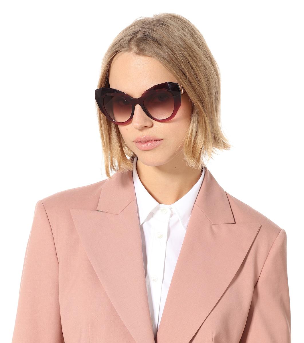 d021be02 Oversized Cat-Eye Sunglasses - Dolce & Gabbana | mytheresa