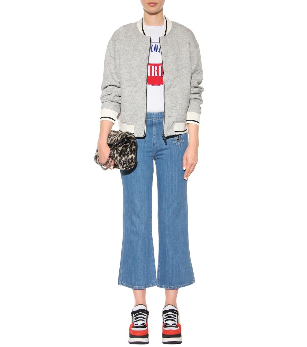 f4c2eebd7 بنطلون جينز قصير بأرجل واسعة Arrow - M.i.h Jeans   mytheresa.com