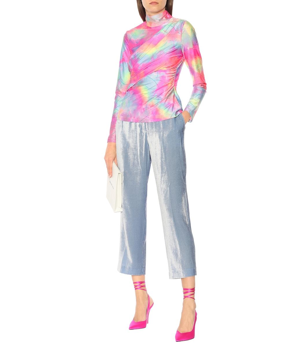 1b55afbeb99 Sies Marjan - Willa high-rise velvet pants | Mytheresa