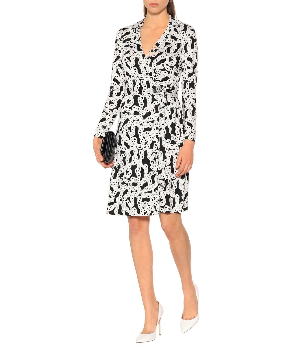 0dbf5d9dd8df0 Diane von Furstenberg - New Jeanne silk-jersey wrap dress   Mytheresa