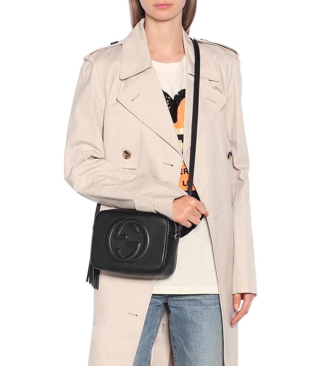 ff3a5ad1d32fc7 Disco Bag Soho Leather Crossbody Bag - Gucci | mytheresa.com