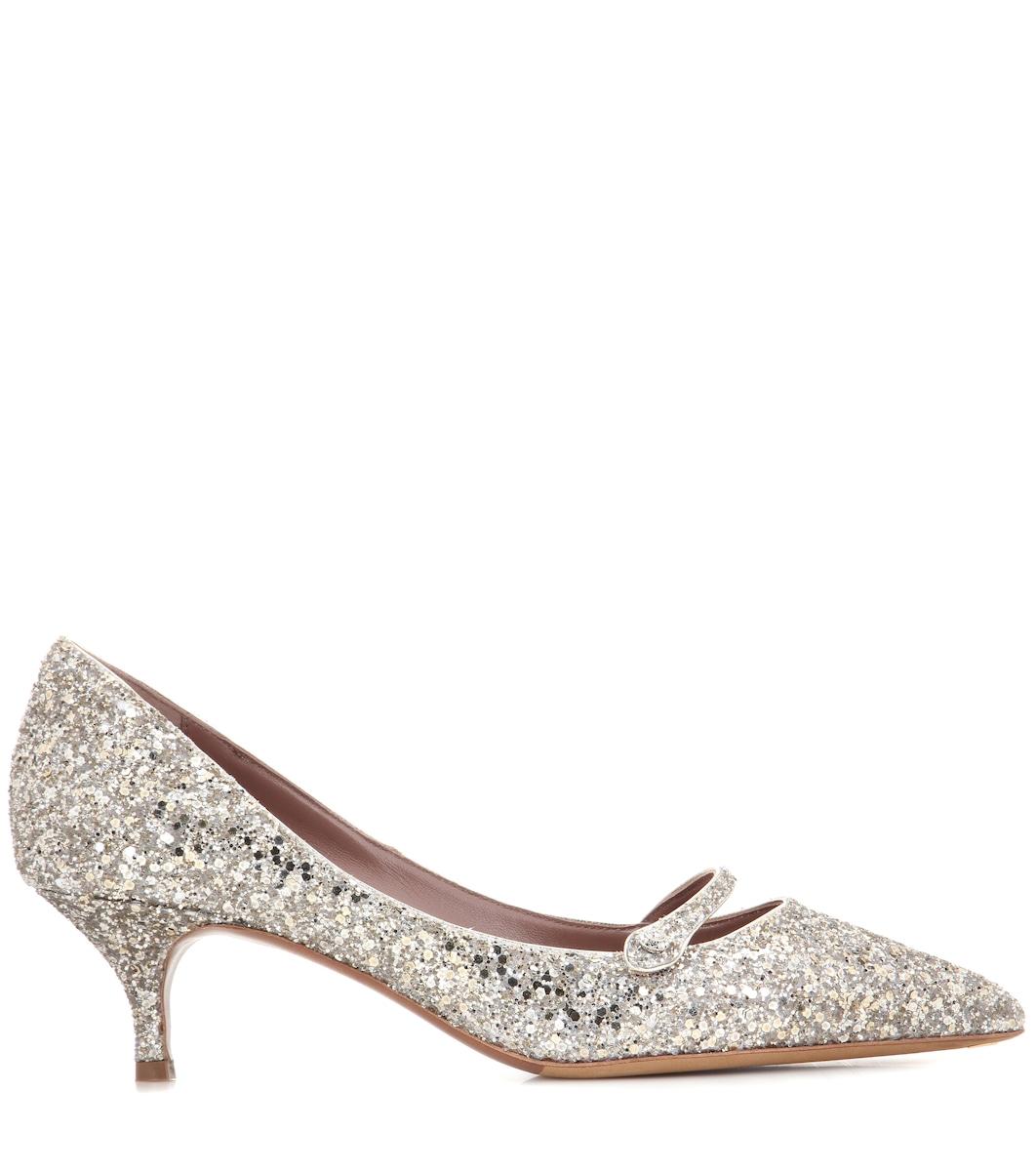 1dd1a9525524 Tabitha Simmons - Layton glitter pumps | Mytheresa
