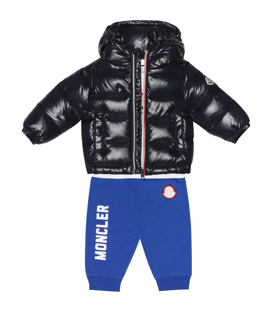42a3ef43753136 Moncler Enfant - Baby New Aubert quilted down coat | Mytheresa