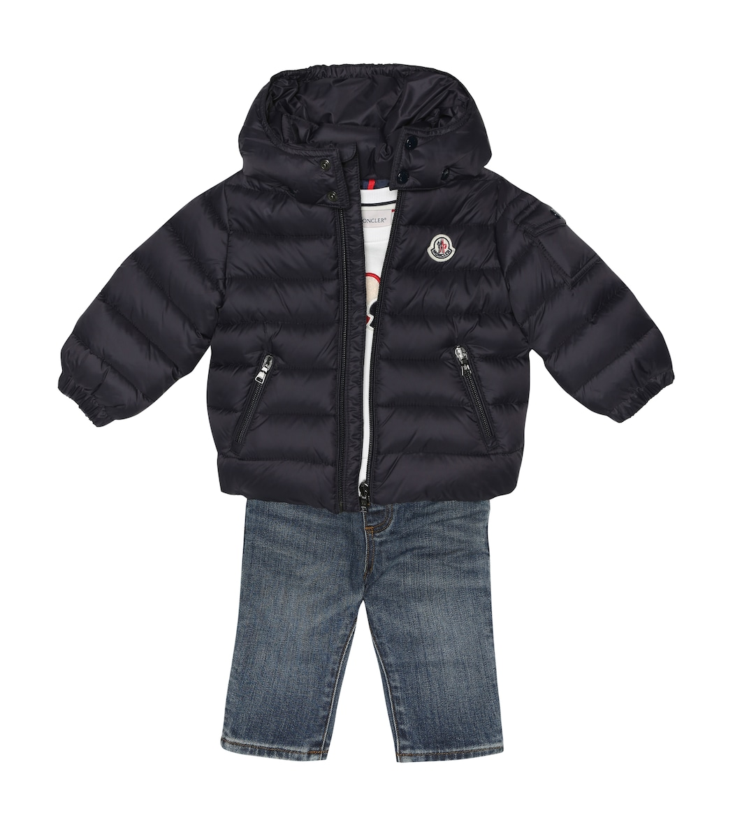 Baby Jules quilted down coat