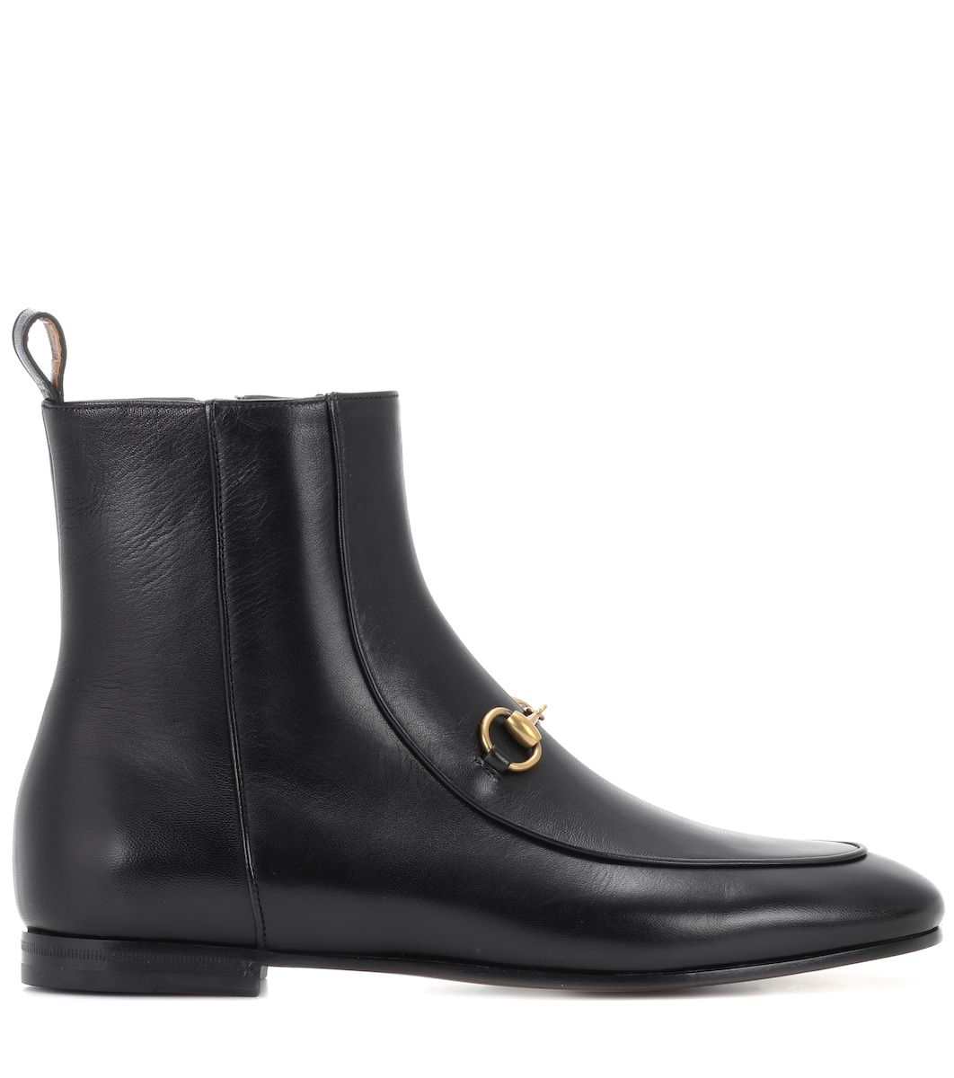 ffc66a07b14 Jordaan Leather Ankle Boots