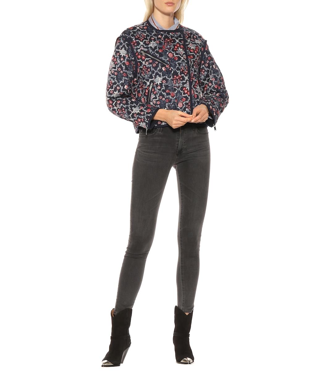 771546f462d Manae Printed Linen Jacket | Isabel Marant, Étoile - Mytheresa
