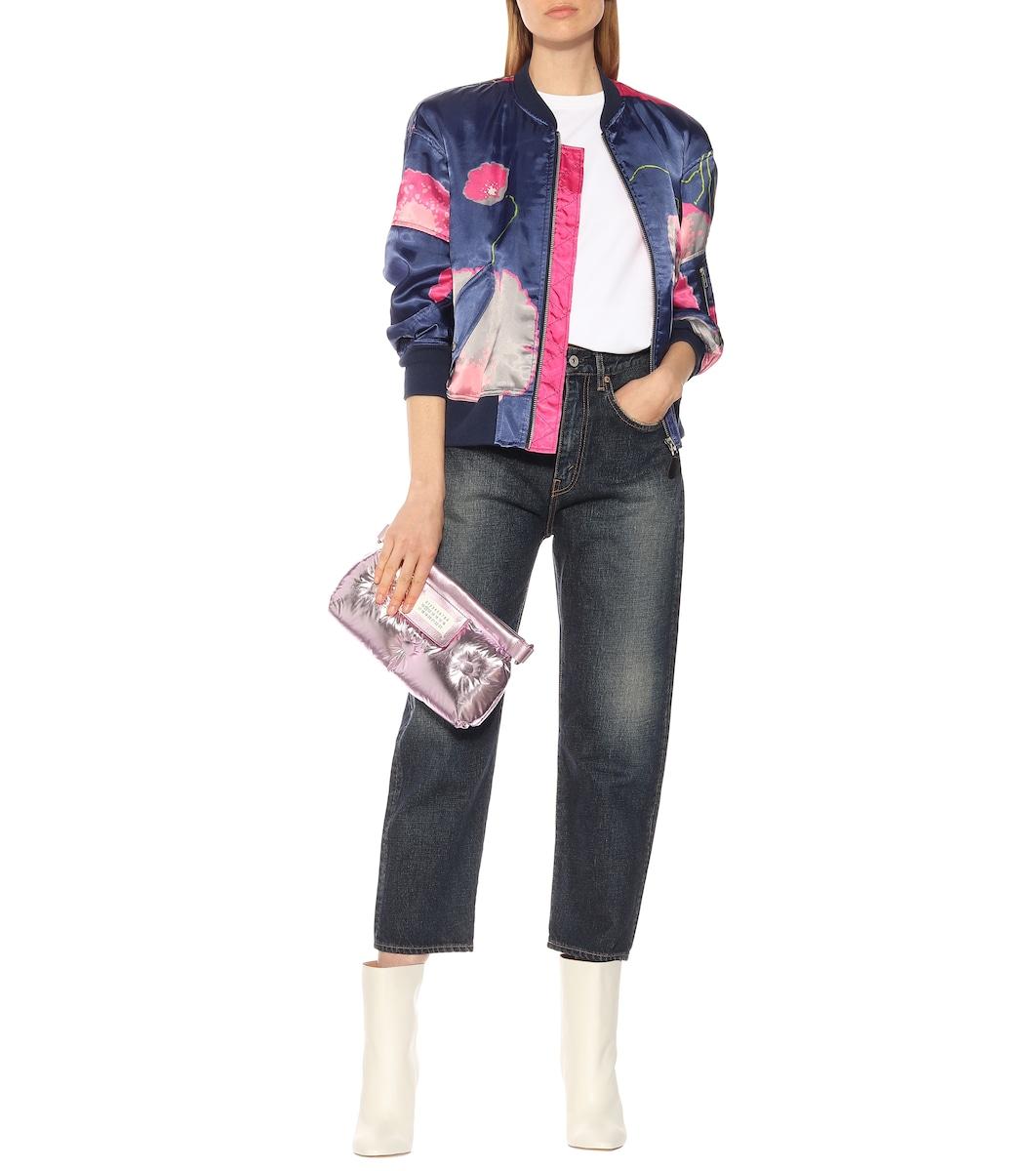 7ef13c0f9 Floral Satin Bomber Jacket - Junya Watanabe   Mytheresa
